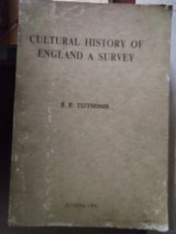 Cultural history of England a survey