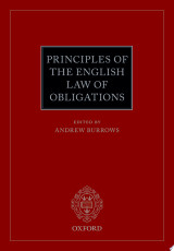 Principles of the English Law of Obligations