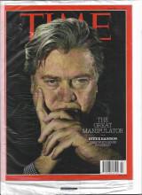Time Magazine 2017 The Great Manipulator, Steve Bannon, Chief white House strategist