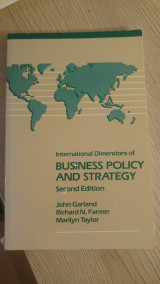 International Dimensions of Business Policy and Strategy (Second Edition)