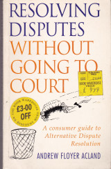 Resolving disputes without going to court