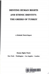 Denying Human Rights and Ethnic Identity