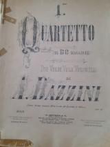 A.bazzini quartetto in do maggiore