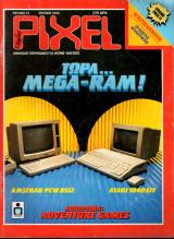 Magazine - Περιοδικό / Pixel Τεύχος 23 Ιουν 1986 220 Δρχ