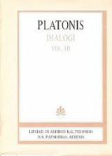 Platonis, Dialogi, Vol. 3