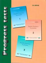 Progress tests Books 1, 2 and 3