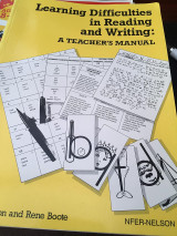 Learning difficulties in reading and writing