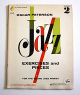 Oscar Peterson Jazz exercises and pieces Vol.2