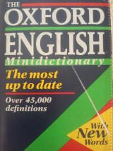 The Oxford English mini dictionary