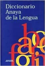 Diccionario Anaya De La Lengua (Spanish) Hardcover