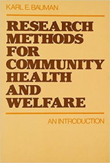 Research Methods for Community Health and Welfare