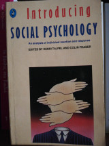 Introducing Social Psychology (Pelican)