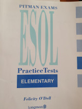 Pitman Exams Esol Practice Tests Elementary
