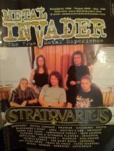 Metal Invader Τεύχος Nο 025, Νοέμβριος 1998
