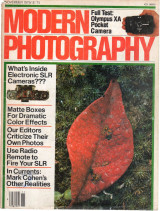 Modern Photography - November 1979 / $1.75 - ISSN-0026-8240