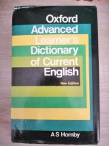 Oxford Advanced Learner's Dictionary of Current English [By] A.S. Hornby, with the Assistance of A.P. Cowie, J. Windsor Lewis. (3rd Ed.).