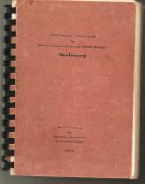Chemisches Praktikum Χημεία για φοιτητές Ιατρικής του Πανεπιστημίου Freiburg 1975/76