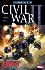 Civil War II free comic book day