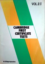 Cambridge first certificate tests (vol.2)