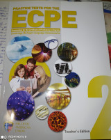 Practice tests 2 for the ECPE. Teacher's Edition