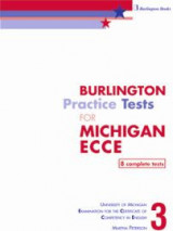 Burlington Pract. Tests Mich. ECCE 3 Student's Book (8 Complete Tests) 2013 Revised