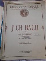 J.ch bach six quatuors